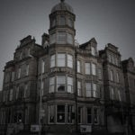 Abandoned Park Hotel front exterior