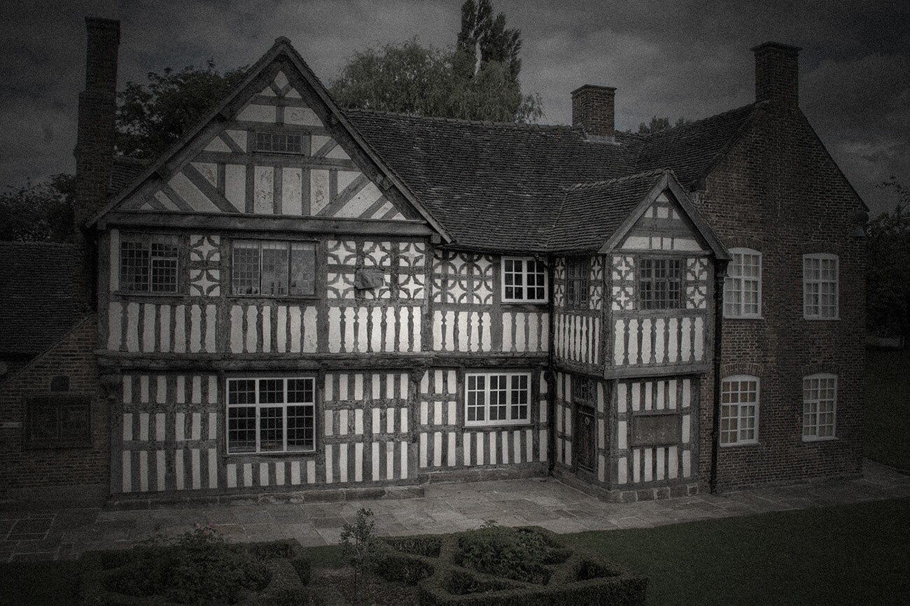 Haunted places of Staffordshire