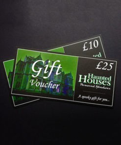 Haunted Houses gift vouchers