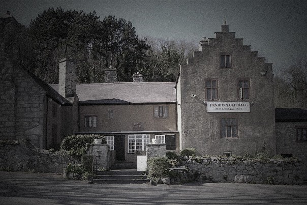 Penrhyn Old Hall Llandudno ghost hunt, haunted halls north wales