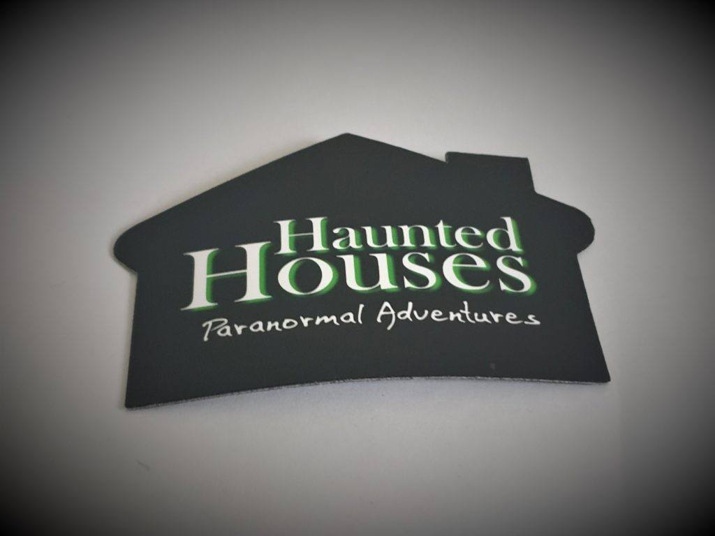 Haunted Houses Official Fridge Magnet