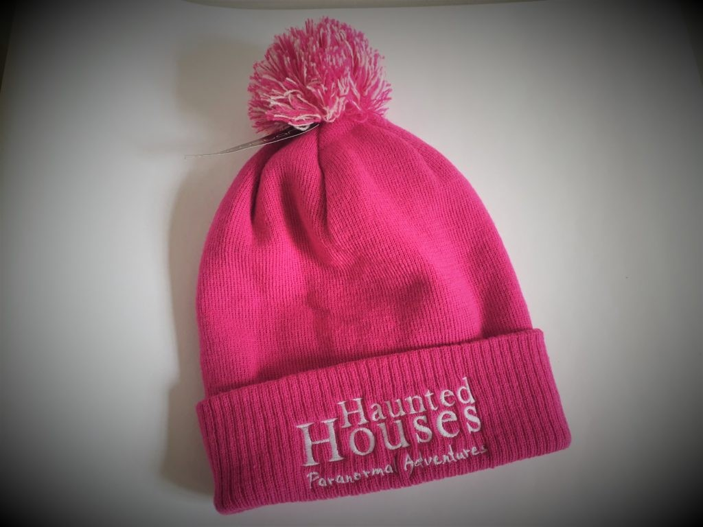 Haunted Houses Official Pink Bobble Hat