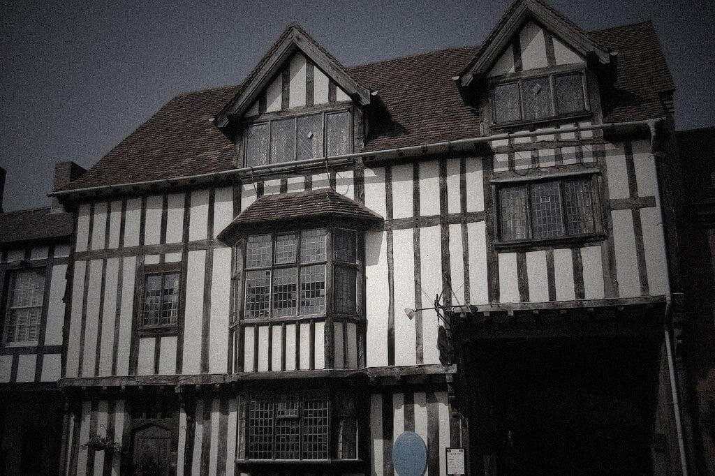 Tudor World, Falstaffs Experience ghost hunt, tudor building stratford upon avon, warwickshire