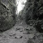 path between 2 cliffs