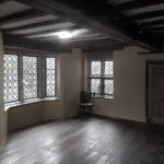 Haden Hill Hall empty room with chair in the corner