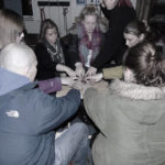 Group activity in Mill Street Barracks