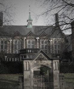 Old Haunted School exterior