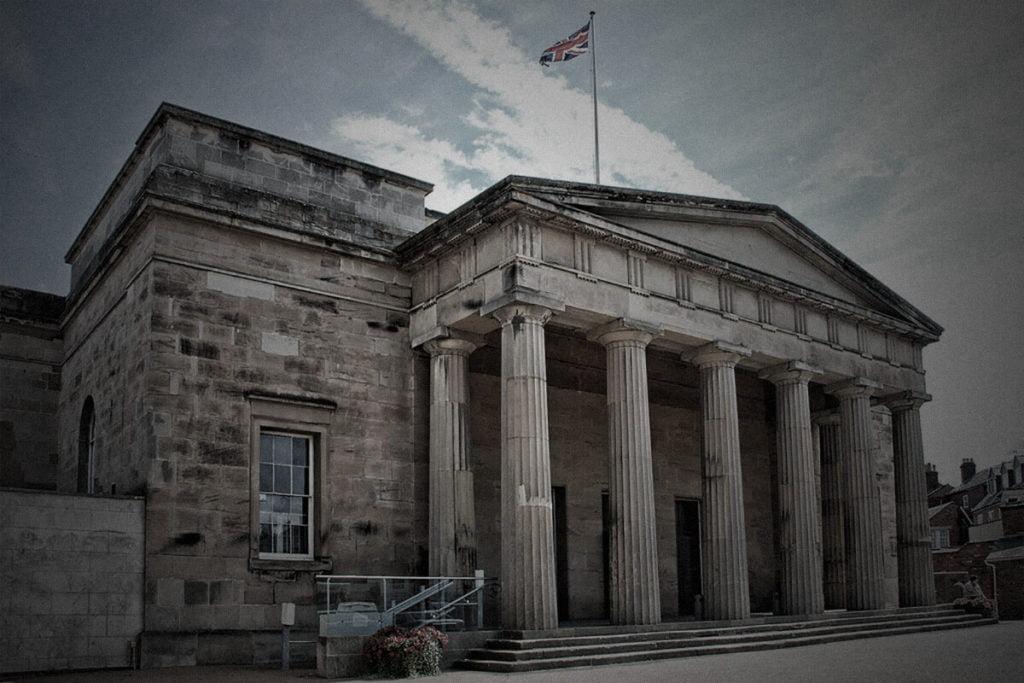 Shire Hall exterior|Shire Hall courtroom