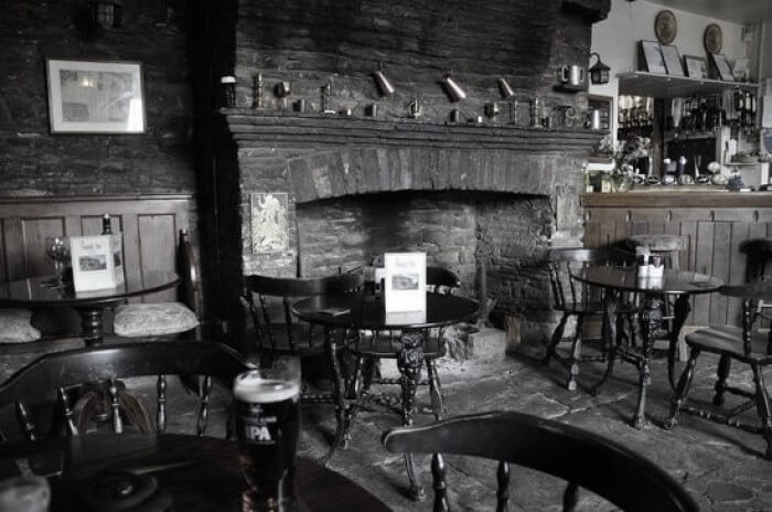 Skirrid Inn bar area