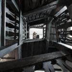 Skirrid Inn view up staircase