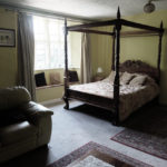 Skirrid Inn four poster bed