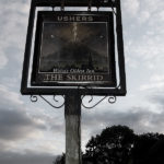 Skirrid Inn sign