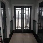 Smethwick Baths glass door