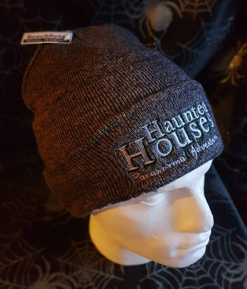 Haunted Houses dark grey beanie