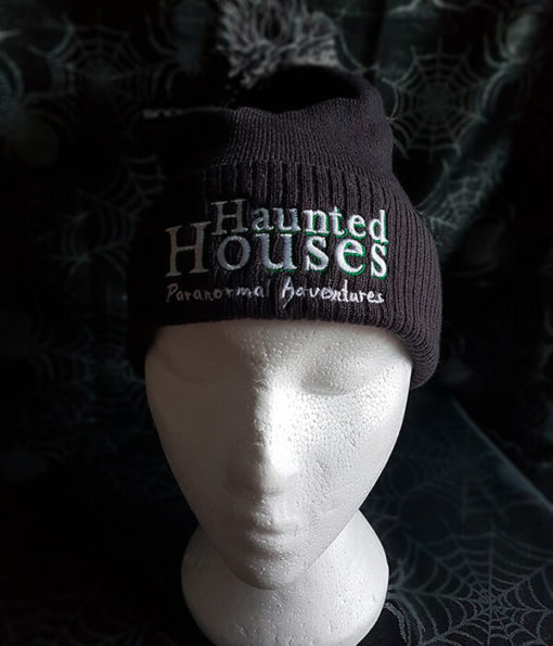 Haunted Houses dark grey beanie
