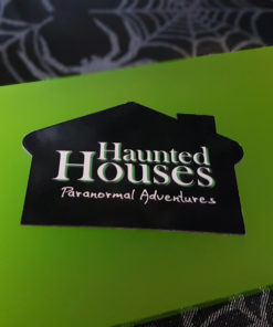 Haunted Houses fridge magnet