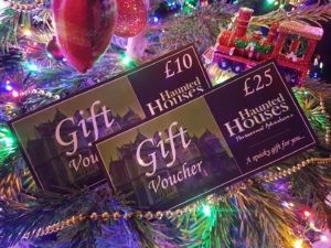 Ghost Hunting Experience Gift Vouchers