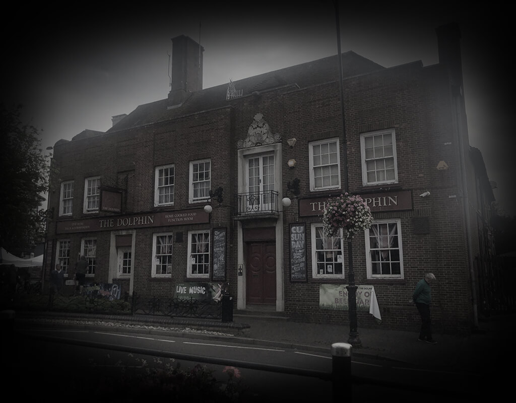 """Ghost Hunting Experiences at the Dolphin Hotel in Littlehamton, Sussex """"AS SEEN ON T.V"""". Most haunted Hotel in the South East"""