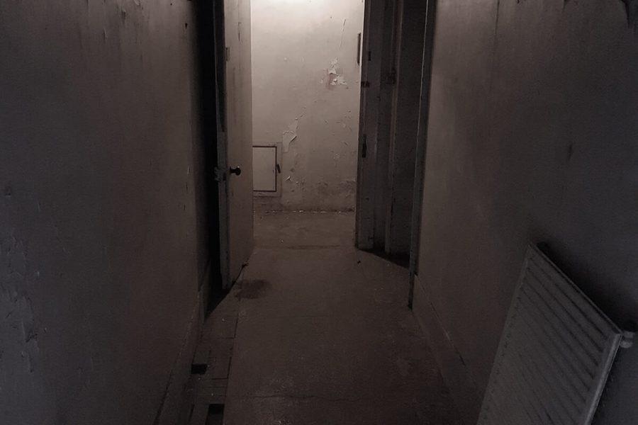 Abandoned Park Hotel corridor