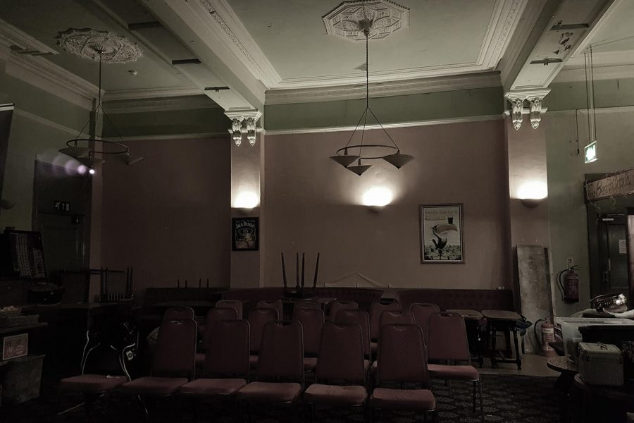 Abandoned Park Hotel room