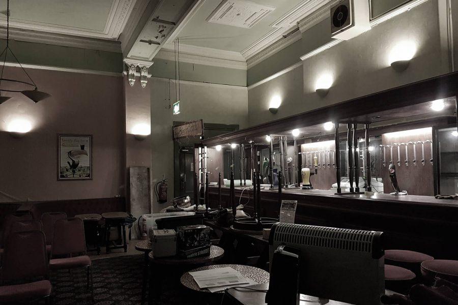Abandoned Park Hotel bar