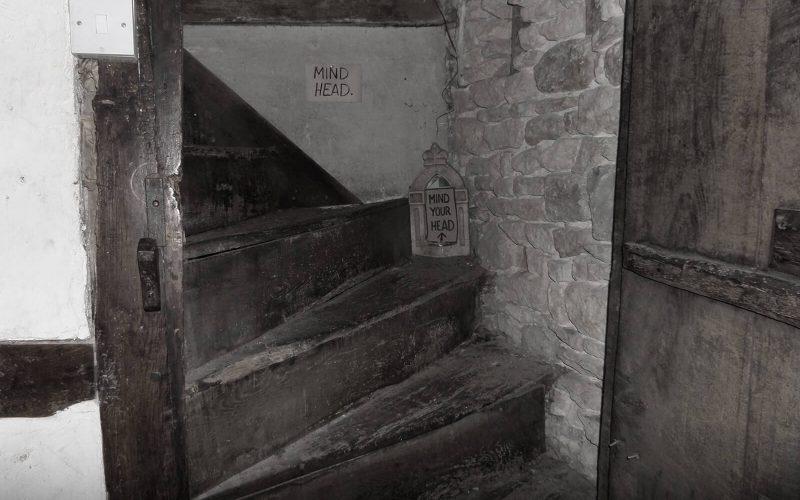Ancient Ram Inn staircase