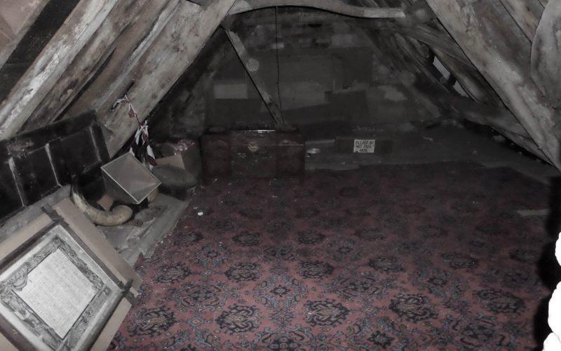 Ancient Ram Inn attic