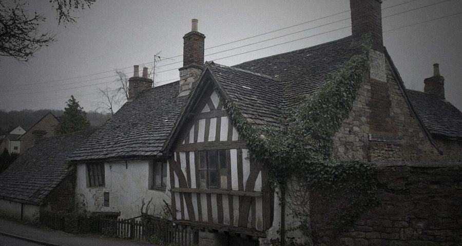 Ghost Hunting at the Ancient Ram Inn with HAunted Houses Events|Ancient Ram Inn staircase|Ancient Ram Inn fireplace|Ancient Ram Inn exterior|Ancient Ram Inn attic|Ancient Ram Inn exterior|Ancient Ram Inn collection or ornaments|Ancient Ram Inn bed