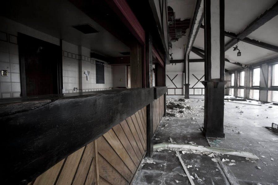 Anzio Army Camp abandoned hall