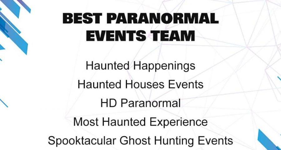 paranormal entertainment awards 2019
