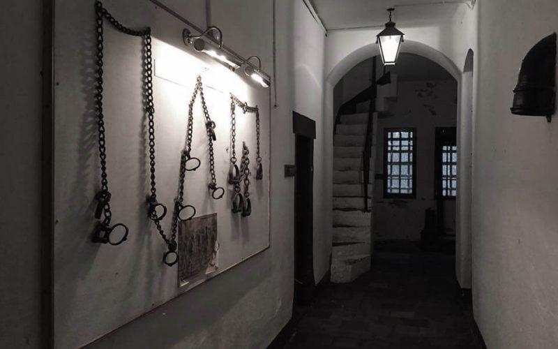 Beaumaris Gaol hallway