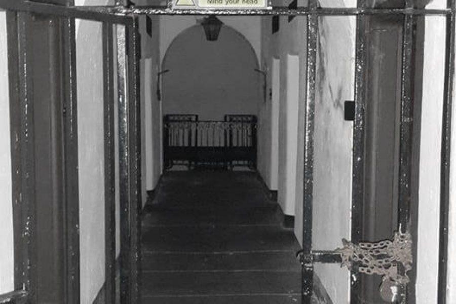 Beaumaris Gaol row of cells