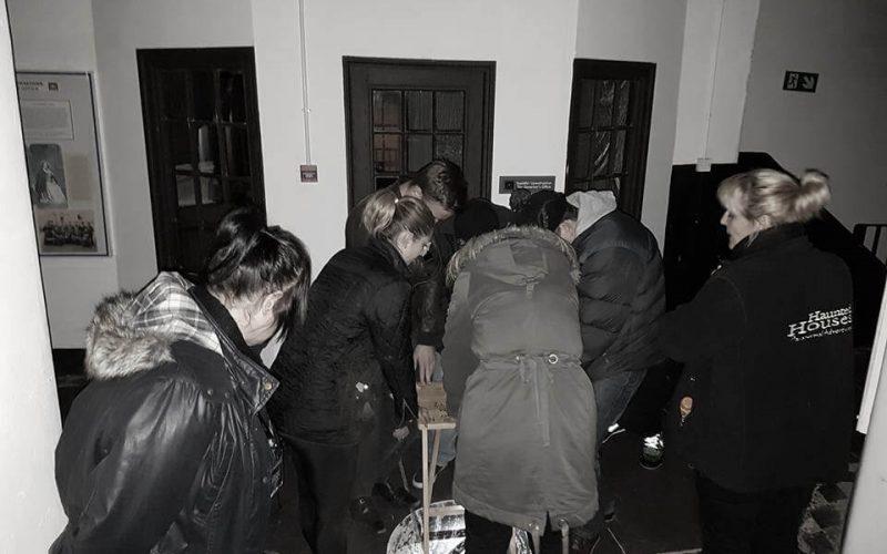 Beaumaris Gaol group of people