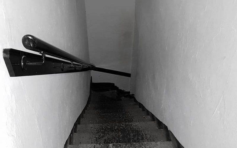 Beaumaris Gaol staircase