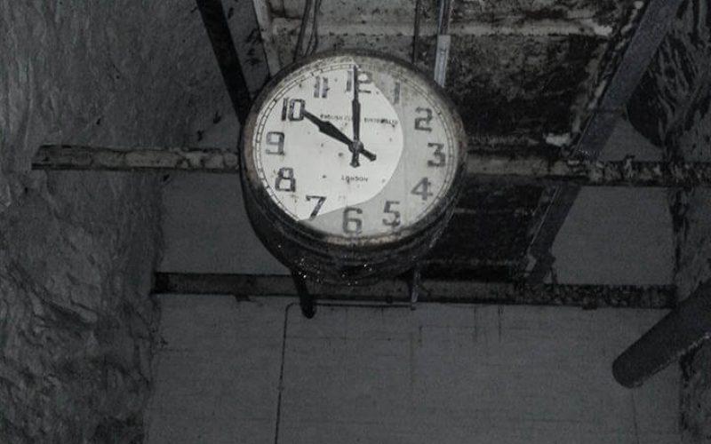 Drakelow Tunnels clock