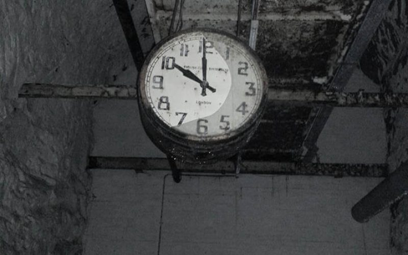 Drakelow Tunnels clock