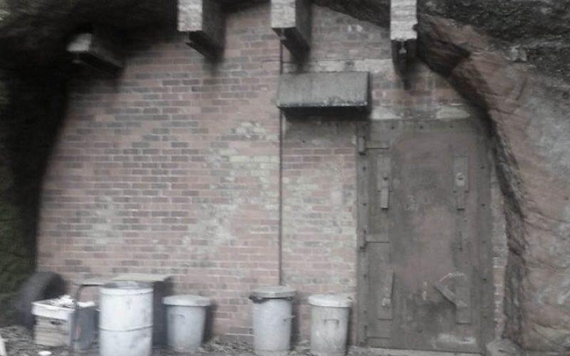 Drakelow Tunnels exterior door