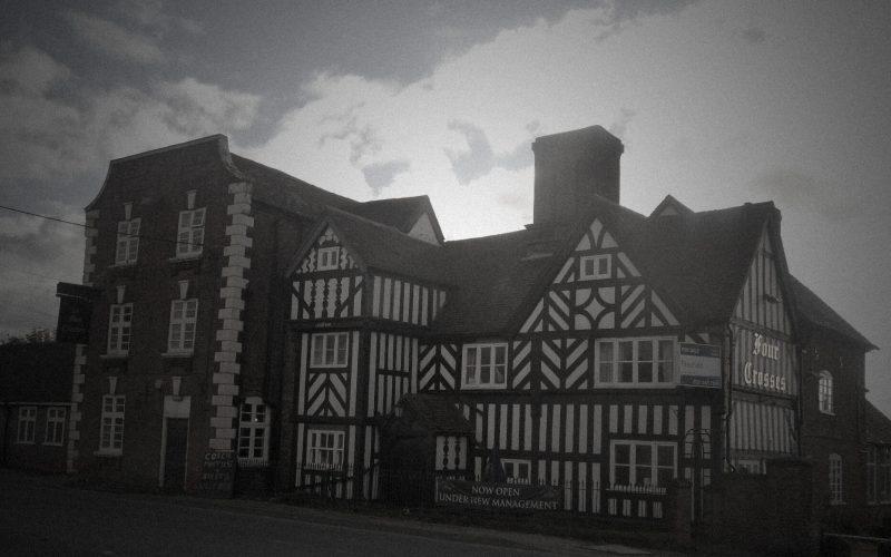 Four Crosses Inn exterior