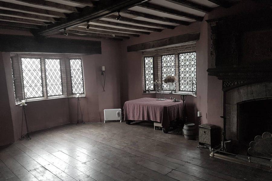 Haden Hill Hall empty room