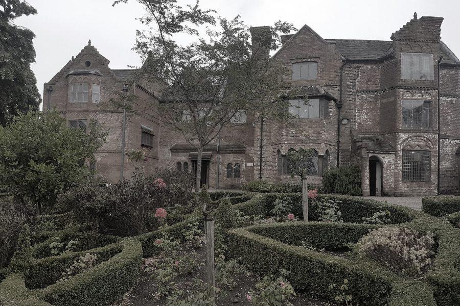 Haden Hill Hall front garden