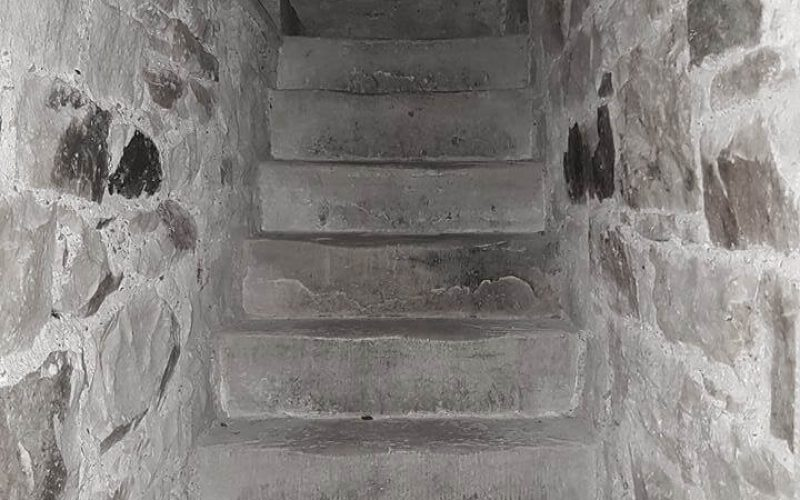 jail staircase