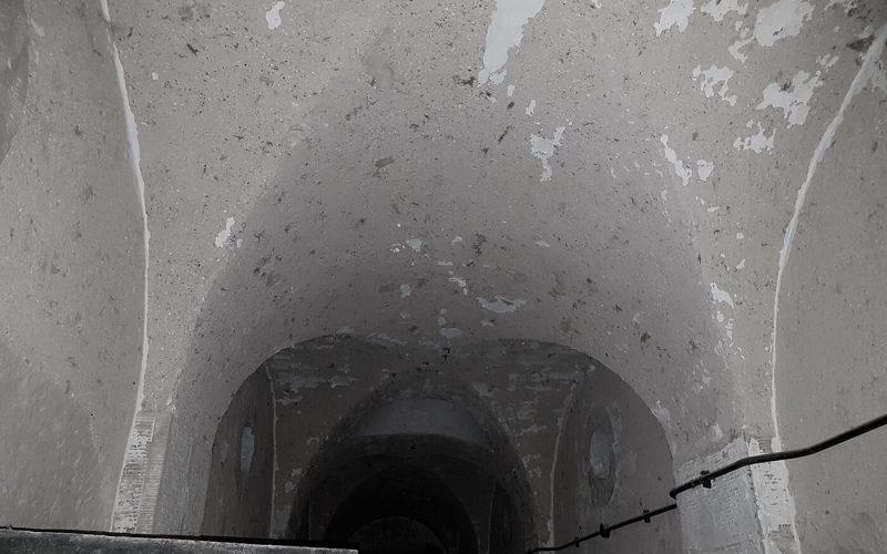 ceiling of corridor