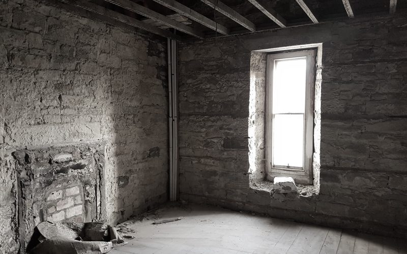 Abandoned room in castle
