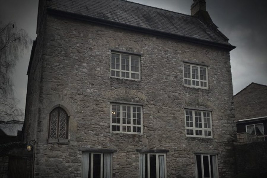 800 year old manor house in South Wales