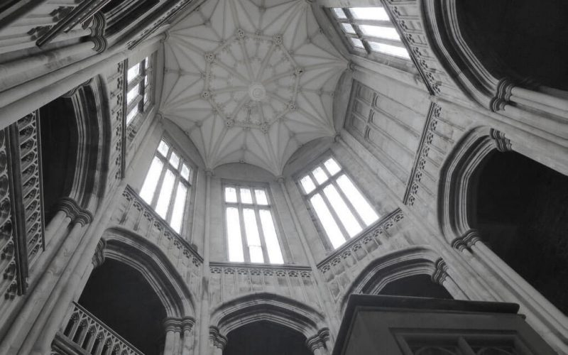 Margam Castle high ceiling