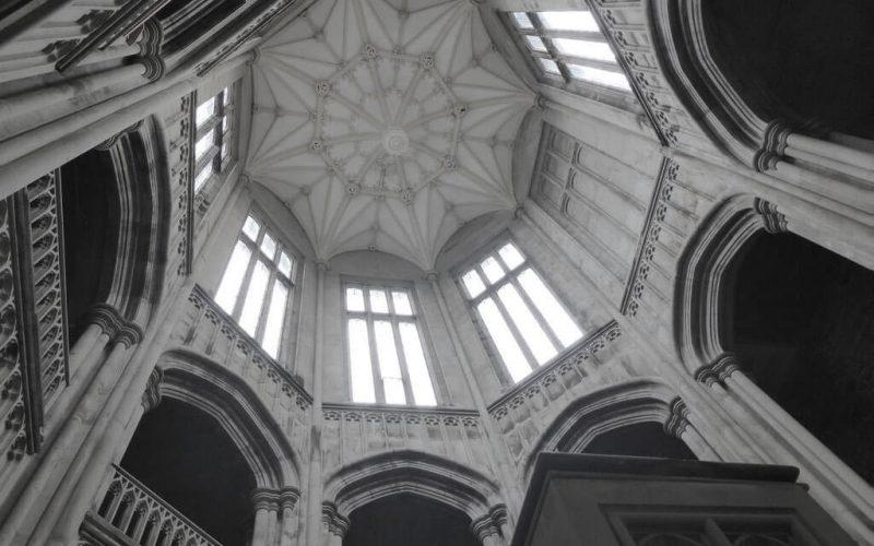 Margam Castle high ceiling