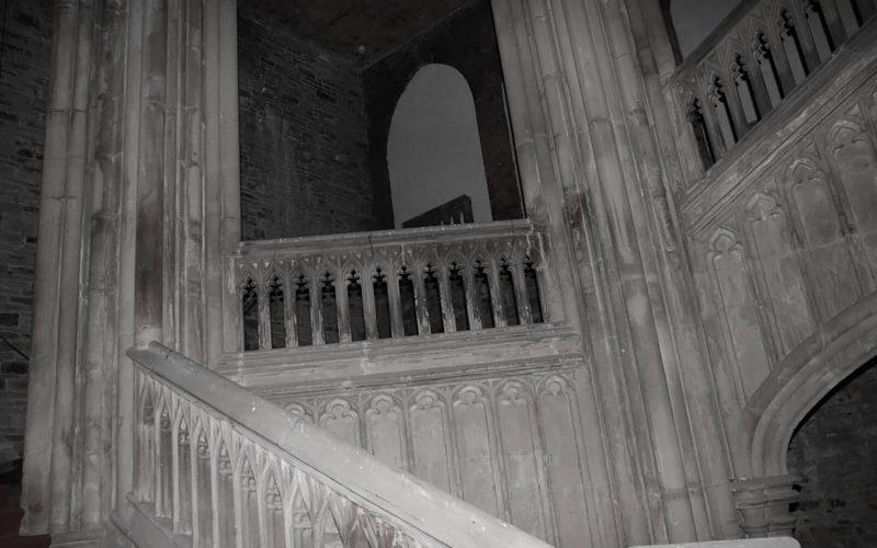 Margam Castle balcony