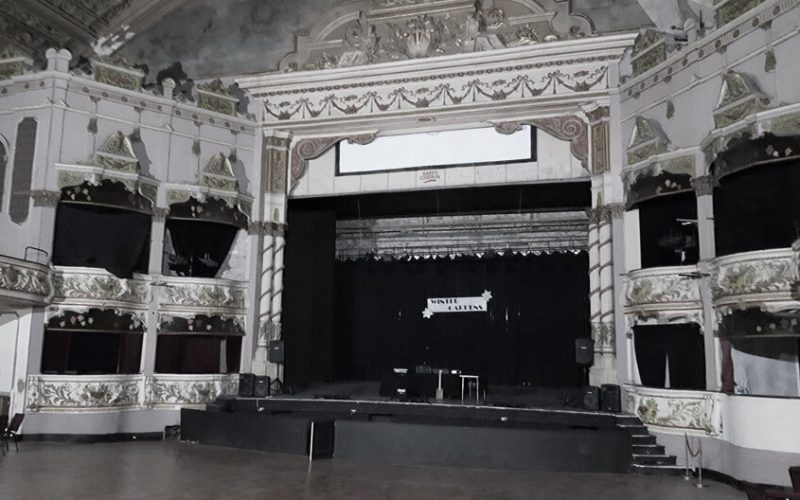 Morecambe Winter Gardens stage