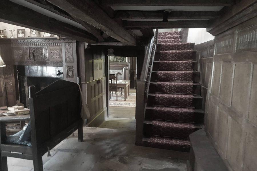 Nantclwyd-y-Dre staircase