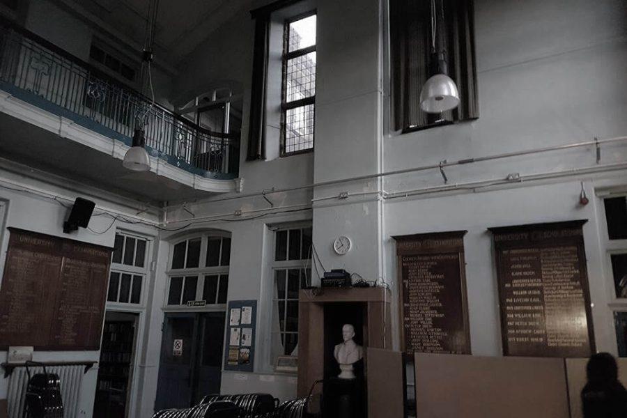 Old Haunted School hall
